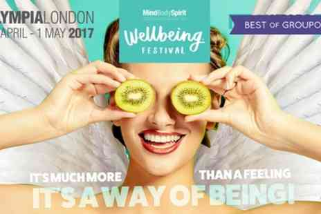 Mind Body Spirit Festival - Two Tickets to Mind Body Spirit Festival on 28 April To 1 May - Save 50%