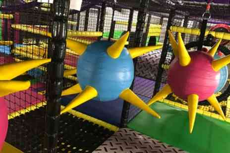 Aerial Adventures - Kids Adventure Play with Meal for Up to Four and Adult Entry - Save 33%