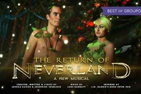 Make Believe Productions - The Return of Neverland tickets on 12 to 15 April - Save 38%