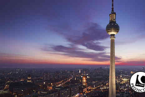 Tour Center - Two to Three Night Hotel Stay With Flights & TV Tower or Spy Museum - Save 42%
