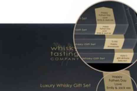 Whisky Tasting Company - Whisky Tasting Set - Save 50%
