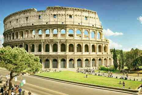 Weekender Breaks - Two night Rome break with flights and hop on, hop off bus tour - Save 23%