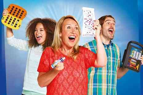 Gala Bingo - Up to 10 games of bingo for two including chips and a choice of one topping each - Save 80%