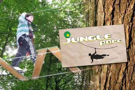 Jungle Parc - X Plorer Activity Course for One £7- Save 67%
