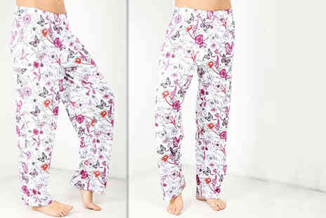 Be Jealous - Pair of floral palazzo pants - Save 80%