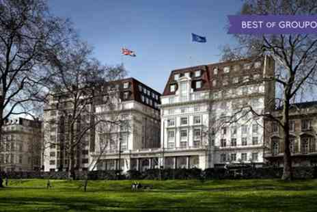 Sheraton Grand London Park Lane - Three Course Lunch or Dinner with Prosecco for Two - Save 52%