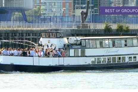 Thames Party Boats - Boat Party and Cruise for Up to Four - Save 55%