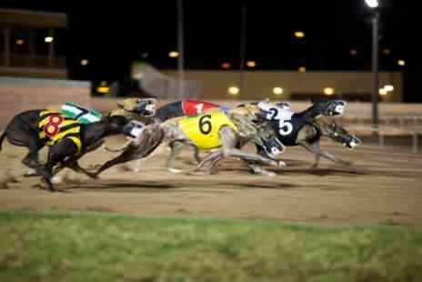 Henlow Racing - Dog Racing with Meal and Drink for Two, Four or Six - Save 71%