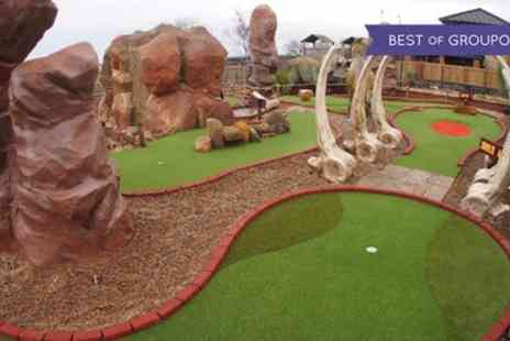 Golf Attractions - Family Ticket to Jurassic Golf - Save 50%