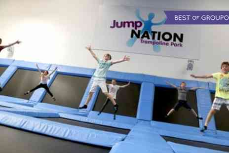 Jump Nation - Party Package for Ten - Save 29%