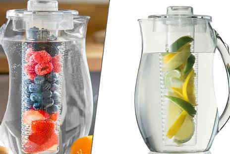 Orchid Deal - 2.7L Clear Party Fruit Infuser Jug - Save 0%