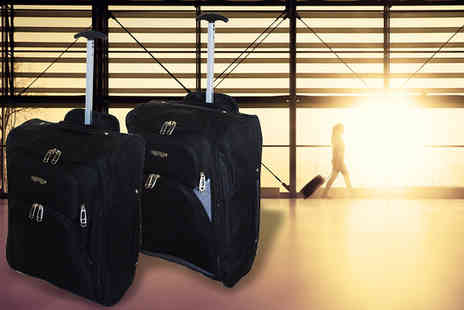 SA Products - Lightweight Wheeled Cabin Bag - Save 67%