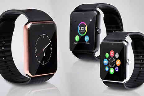 121 Mart - i Touch Bluetooth Smart Watch Available in Three Colours - Save 56%