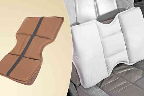 Easylife Group - Memory Foam Lumbar Seat Cushion Choose From Two Colours - Save 31%