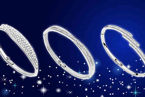 Van Amstel diamond - Crystal Bracelet Choose From Three Designs - Save 87%