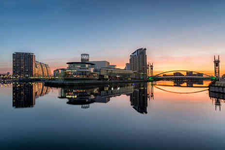Britannia Hotels - Overnight Manchester break for two with breakfast or include dinner and a bottle of house wine - Save 0%