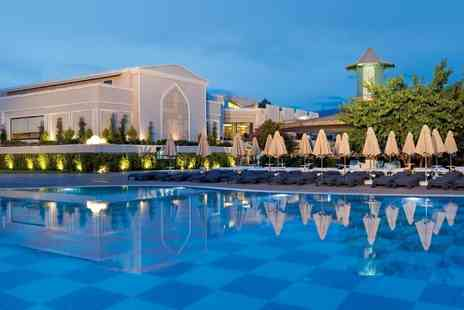 Worldwide Tours & Travel - Three, Five or Seven night all inclusive 5 Star Turkey Spa break including flights - Save 34%
