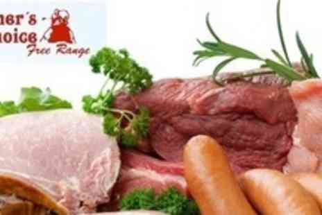 Farmers Choice Free Range - BBQ Meat Pack With Steak Burgers, Spare Ribs, and More - Save 53%