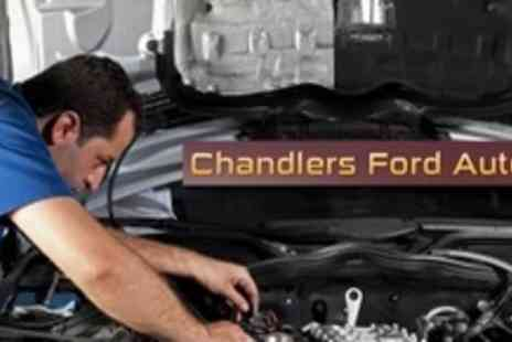 Chandlers Ford Autos - Car Service With Oil and Filter Change Plus Air Con Check And Exterior Wash - Save 59%