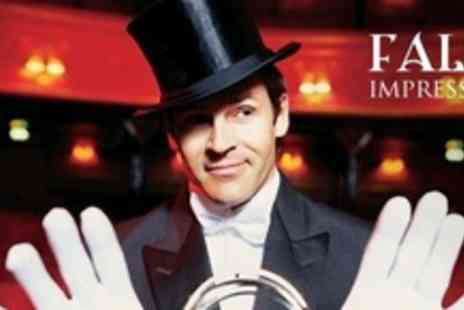 False Impressions - Two Tickets to Richard Leighs Festival of Magic - Save 63%
