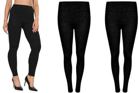 Groupon Goods Global GmbH - Jersey Leggings Two Pack - Save 0%
