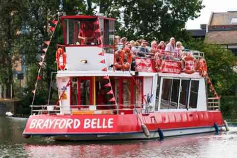 Lincoln Boat Trips - Brayford Belle Lincoln Boat Trip - Save 43%