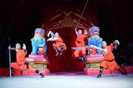 Chinese State Circus - Front circle ticket to Chinese State Circus, Birmingham or Shrewsbury - Save 55%
