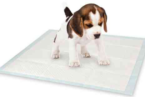 Groupon Goods Global GmbH - 14, 30 or 56 Puppy Training Pads - Save 0%
