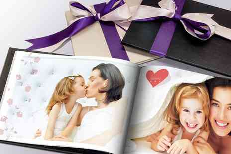 Printerpix - One or Two Personalised Valentina Leather Photobooks - Save 67%