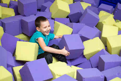 Gioco Play Centre - Soft play entry and juice for two children - Save 44%