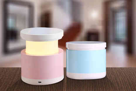 Ckent - LED mini pop up lamp or two in pink or blue - Save 47%