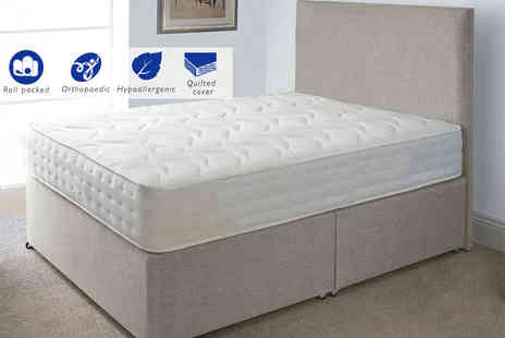 Midnight Dreams - Evolution Interactive orthopaedic memory sprung single mattress - Save 84%