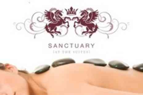 Sanctuary at the Suites - One Hour Massage Plus 30 Minute Tailored Facial For Two People - Save 68%