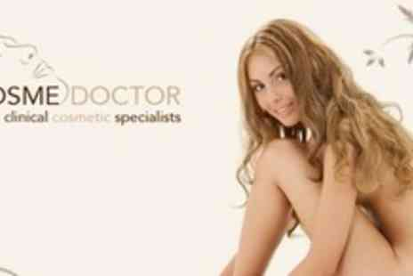 Cosmedoctor - Six Sessions of Laser Hair Removal on Two Small Areas or One Medium Area - Save 82%