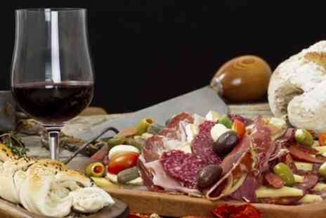 The Knife - Sharing Platter for Two with a Glass of Wine for Each or a Bottle to Share - Save 0%