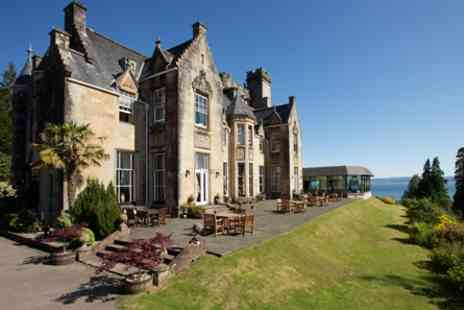 Stonefield Castle Hotel - One Night Scottish Escape with Dinner for Two - Save 0%
