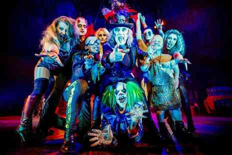 The Circus of Horrors - Ticket to Circus of Horrors, The Never Ending Nightmare - Save 50%