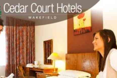 Cedar Court Hotels - In Yorkshire Two Night Stay For Two With Dinner and Breakfast - Save 59%