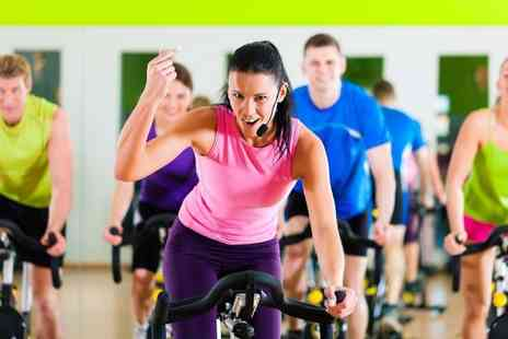 Energie Ride - Three spinning classes - Save 67%