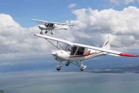 Durham Aerosports - 30 or 60 Minute Flying Experience and Club Membership - Save 31%