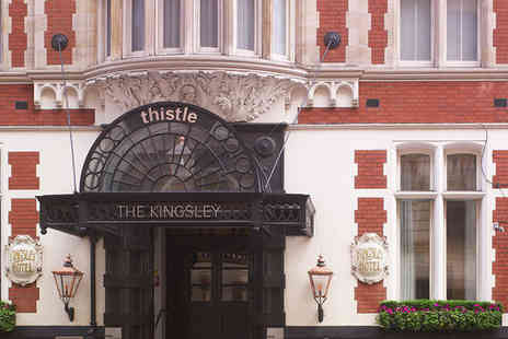 Thistle Holborn The Kingsley - Four Star Classical Edwardian Hotel Break in Historical City Centre - Save 76%