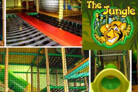 The Jungle - Soft Play For Two Children Plus a Fruit Shoot Each for £5 - Save 60%