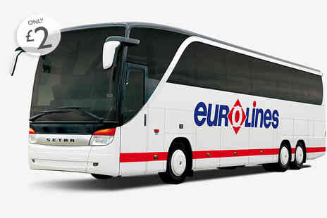 National Express - Access to a fixed £20 or £25 return fare to Paris, Brussels or Amsterdam - Save 0%