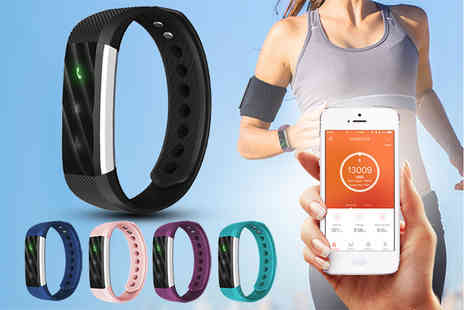 Ckent - 10 in 1 lite activity bracelet keeping you fit in five stylish colours - Save 46%