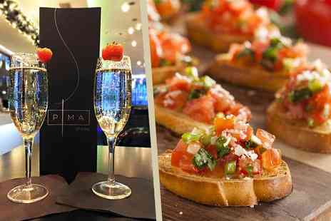 The Hilton Hotel - Bottle of Prosecco and canapes for two - Save 67%