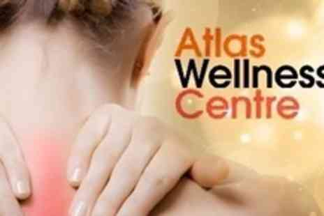 Atlas Wellness Centre - Chiropractic Consultation and Three Follow Up Treatments - Save 76%