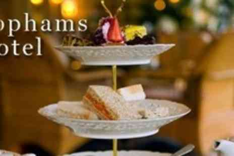 Tophams Hotel - Champagne Afternoon Tea For Two with Sweets and Savouries - Save 59%