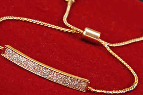 Marcus Emporium - 18K Gold Plated Anklet - Save 86%