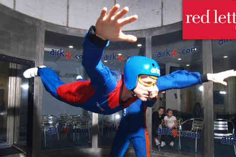 Airkix - Indoor skydiving experience for two people - Save 55%
