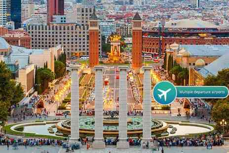 Crystal Travel - Two to three night spa break in Barcelona including flights - Save 43%